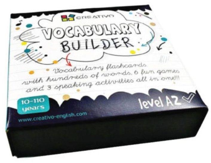 Karty językowe Angielski Vocabulary builder A2