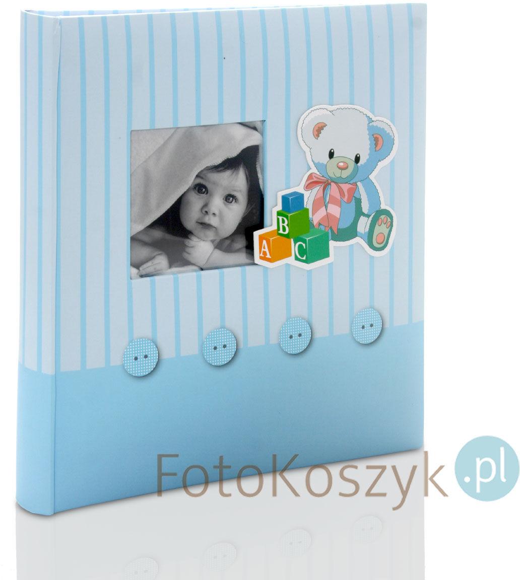 Album wklejany Baby''s Memories niebieski (tradycyjny 60 białych stron)