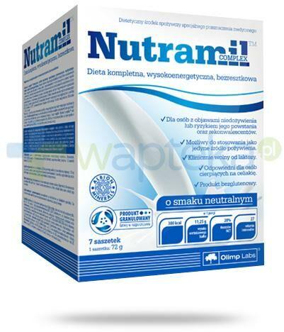Nutramil Complex preparat odżywczy o smaku neutralnym 7 saszetek