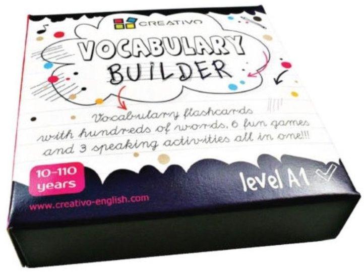 Karty językowe Angielski Vocabulary builder A1