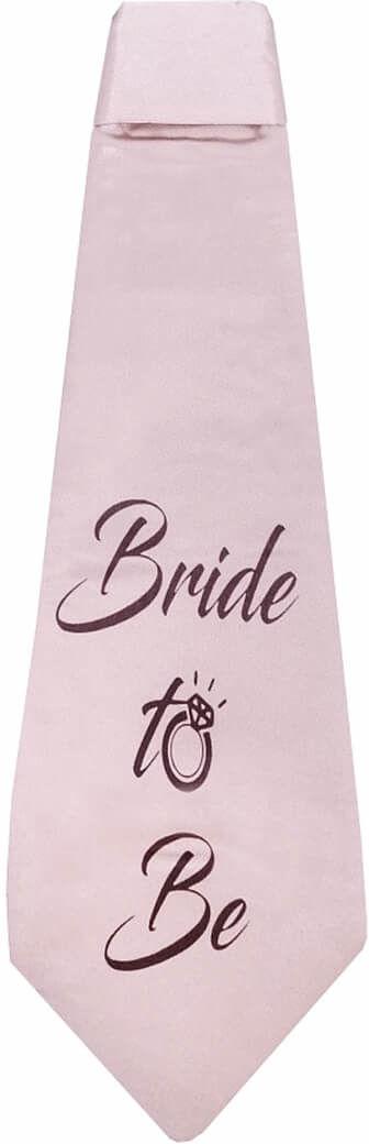 Krawat Bride to be na wieczór panieński - 1 szt.