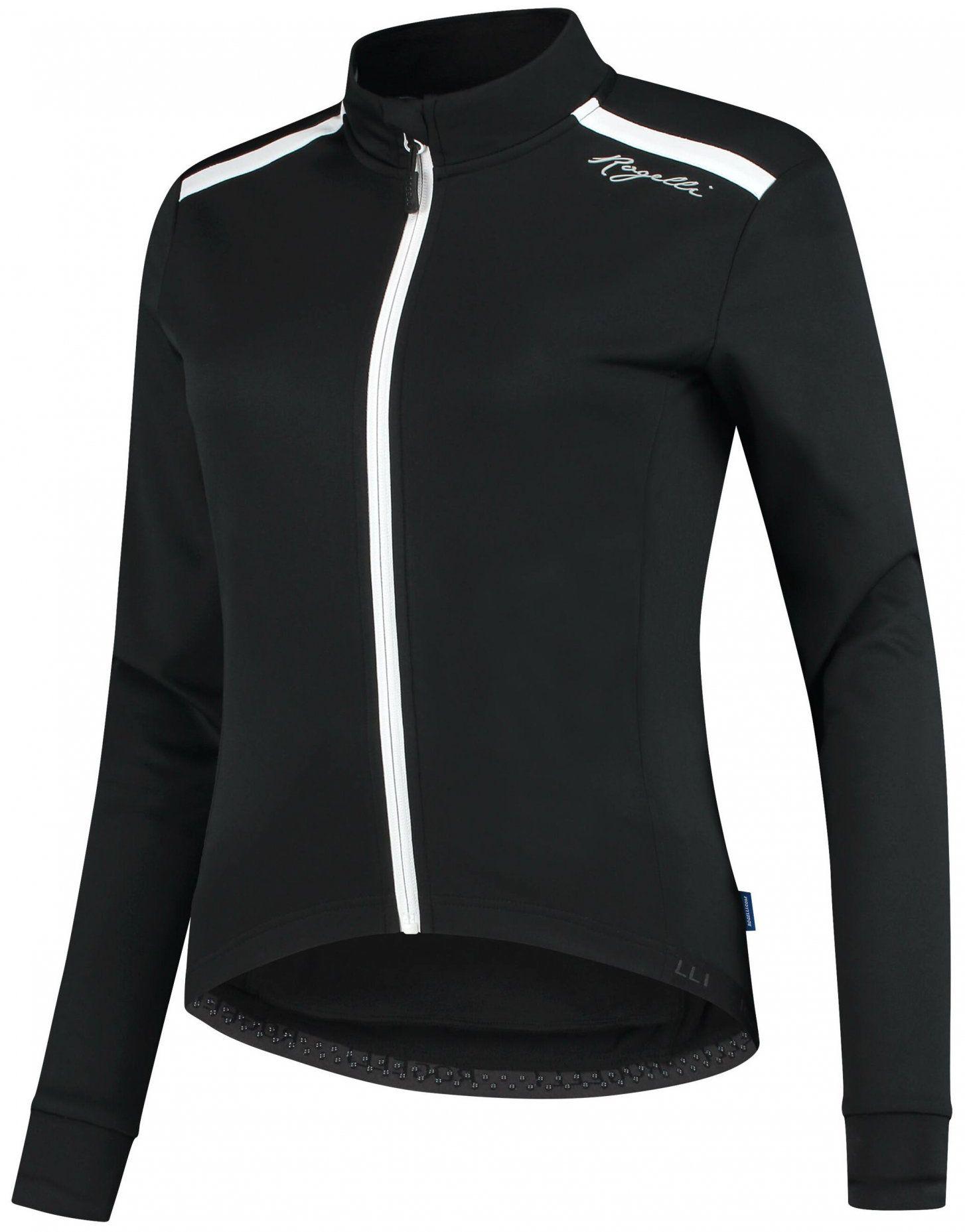 ROGELLI PESARA damska zimowa kurtka rowerowa, czarno-biała Rozmiar: S,010.317
