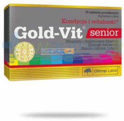Olimp Gold Vit senior 30 tabletek