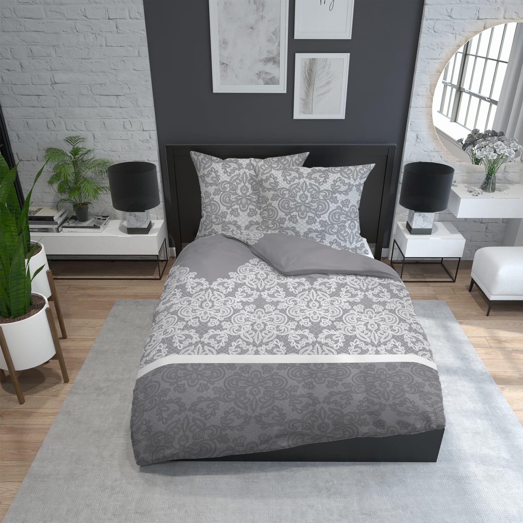 Pościel 220x200 bawełniana Komplet 100% bawełna do sypialni