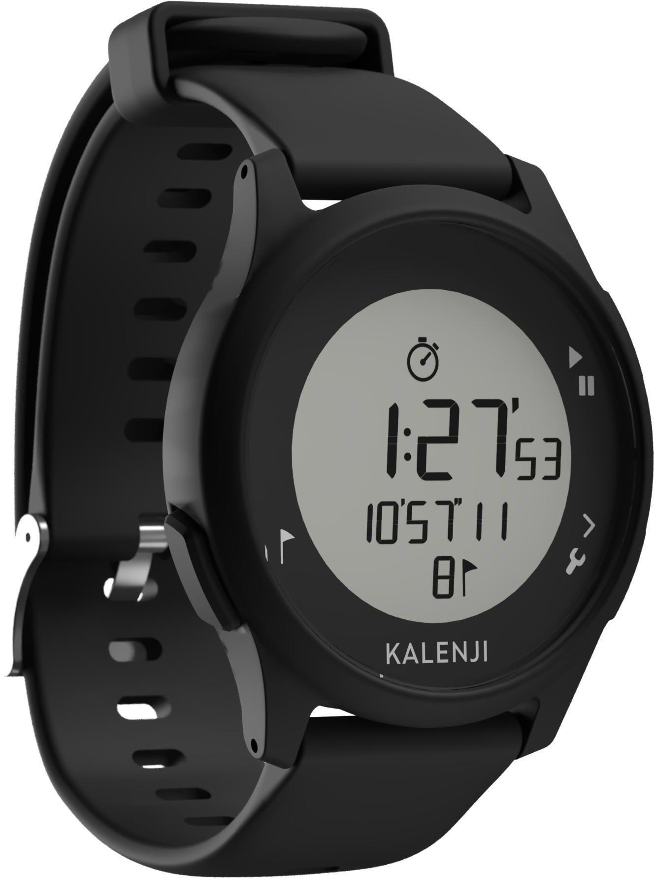 Zegarek do biegania ATW100 czarny