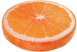 Small Foot Poduszka pomarańczowa, tkanina, wielokolorowa, 39 x 39 x 7 cm