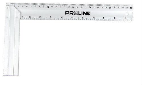 Kątownik aluminiowy stolarski 500x235mm PROLINE (21350)