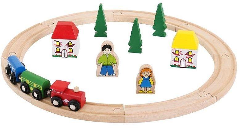 Moja pierwsza kolejka drewniana, BJT010-Bigjigs Rail