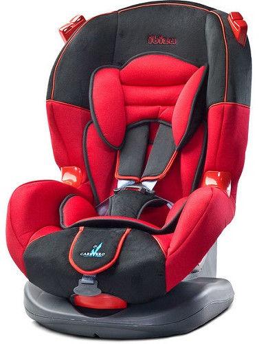 Caretero Ibiza fotelik samochodowy 9-25 kg Red