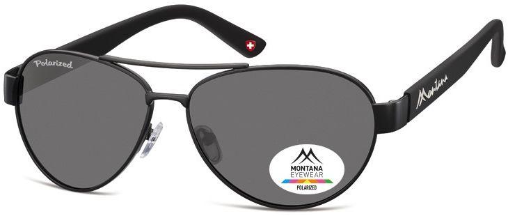 Pilotki okulary aviator Montana MP97C polaryzacyjne