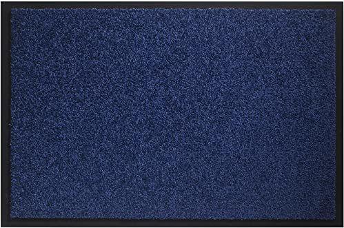 Wycieraczka Twister do użytku w pomieszczeniach, poliamid, kobaltowy, niebieski, 60 x 80 cm