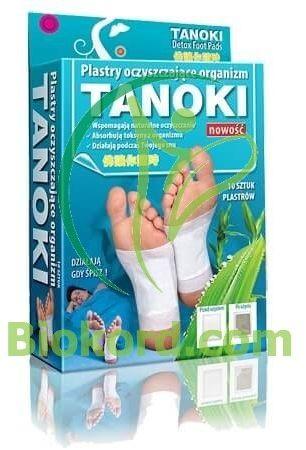 Plastry Oczyszczające TANOKI, 10 sztuk