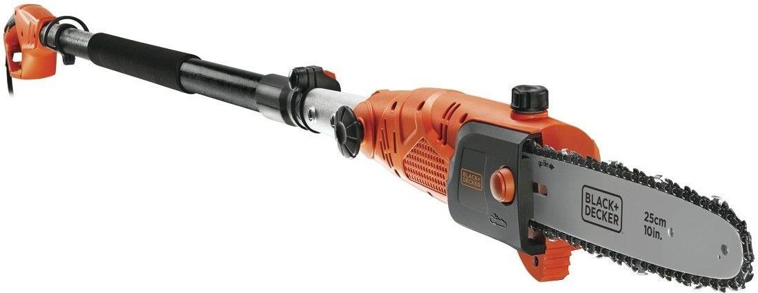 elektryczna piła łańcuchowa na wysięgniku 25cm/800W Black+Decker [PS7525-QS]