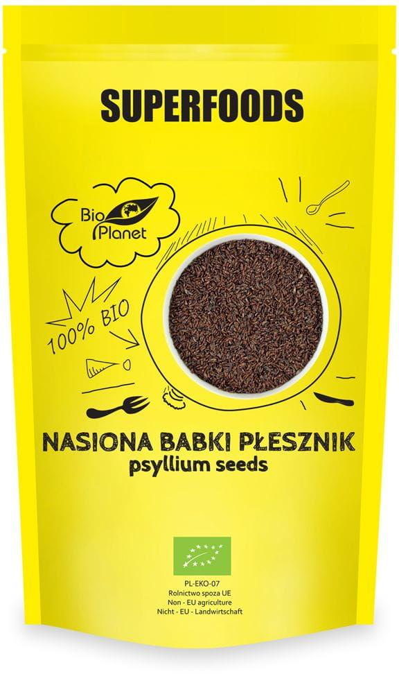 Nasiona Babki Płesznik BIO 250g - Bio Planet