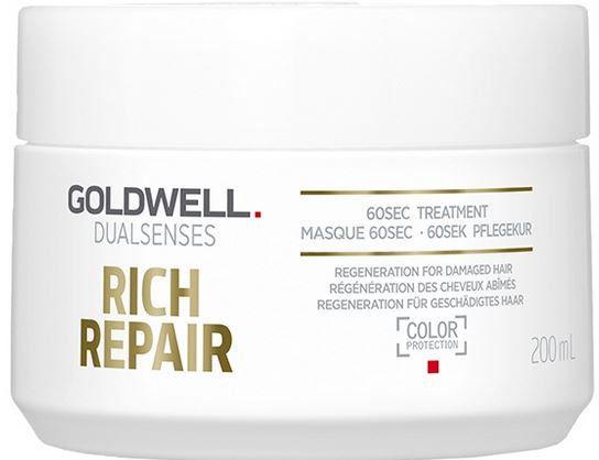 Goldwell Dualsenses Rich Repair maseczka do włosów suchych i zniszczonych 200 ml