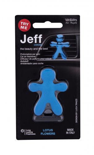 Mr&Mrs Fragrance Jeff Lotus Flowers zapach samochodowy 1 szt unisex