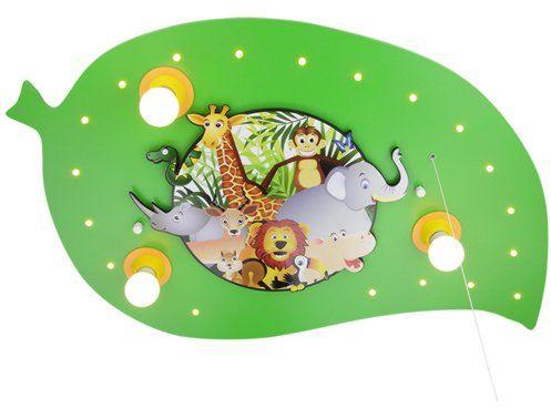 Elobra Lampa sufitowa liść dżungla 3/20 ELO-125878