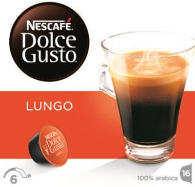 Kapsułka NESCAFE Dolce Gusto Caffe Lungo. Kup taniej o 40 zł dołączając do Klubu