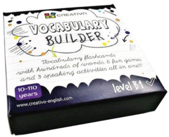 Karty językowe Angielski Vocabulary builder B1