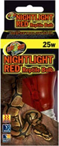 Zoo Med NR-25 żarówka z gadami, 40 W, czerwona