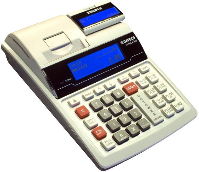 Kasa fiskalna Datecs SEMI E.KO kopia elektroniczna drukuje NIP nabywcy na paragonie !!!