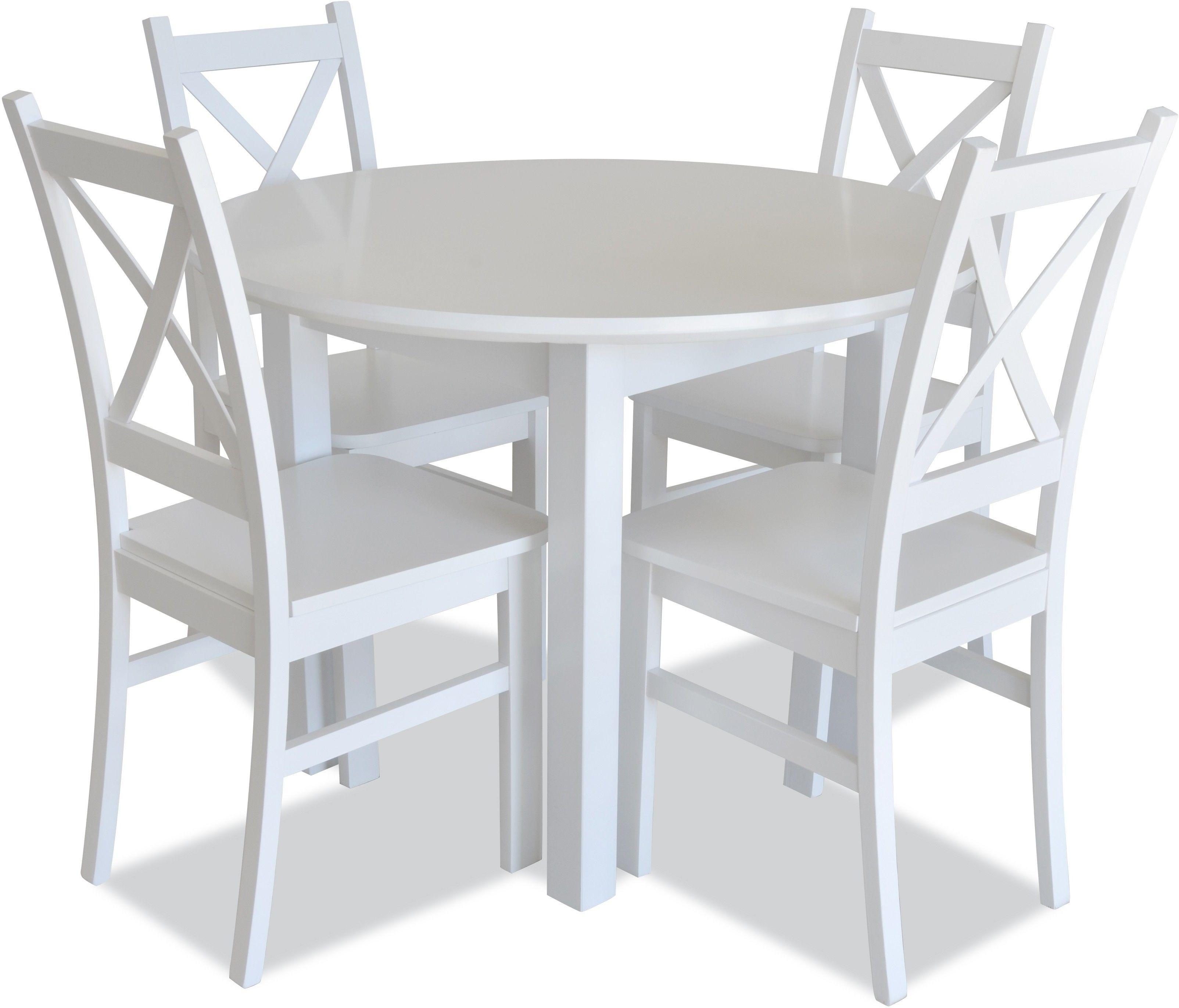 Zestaw Z34R rozkładany - stół i krzesła