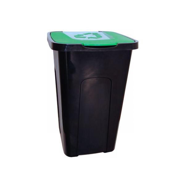 Kosz do segregacji SORTA 50L zielony