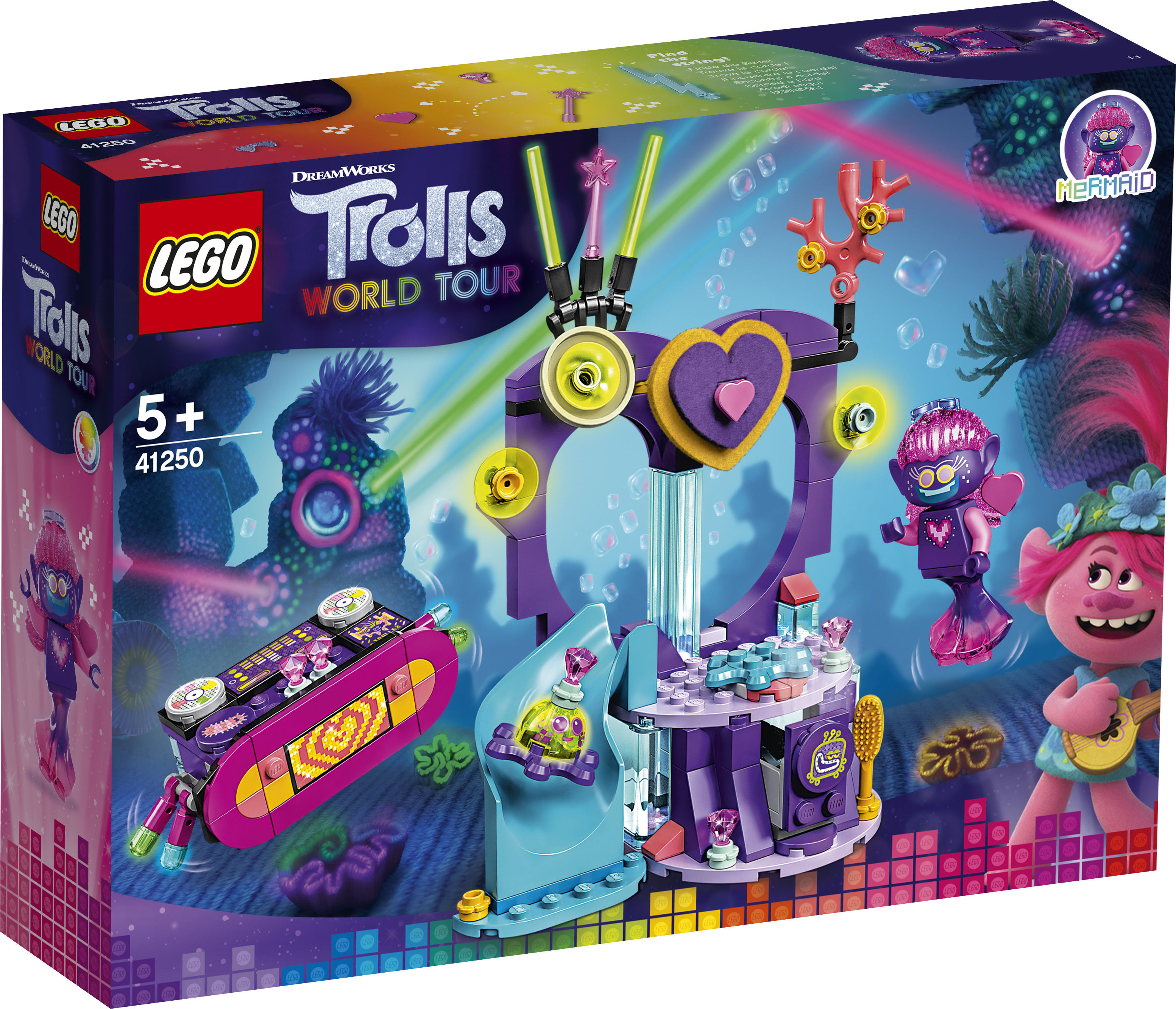 LEGO Trolls - Impreza techno na rafie 41250