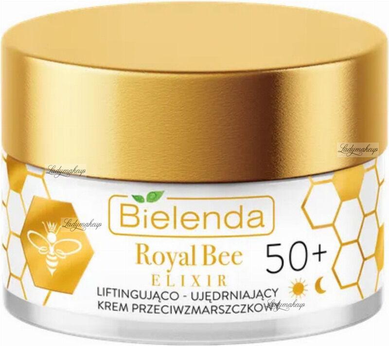 Bielenda - Royal Bee Elixir - Liftingująco-ujędrniający krem przeciwzmarszczkowy - 50+ Dzień/Noc - 50 ml