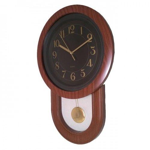 Zegar z wahadłem drewnopodobny