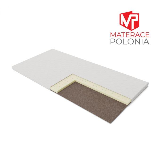 materac nawierzchniowy BAZYLISZEK MateracePolonia 180x200 H2 + 2 lat gwarancji