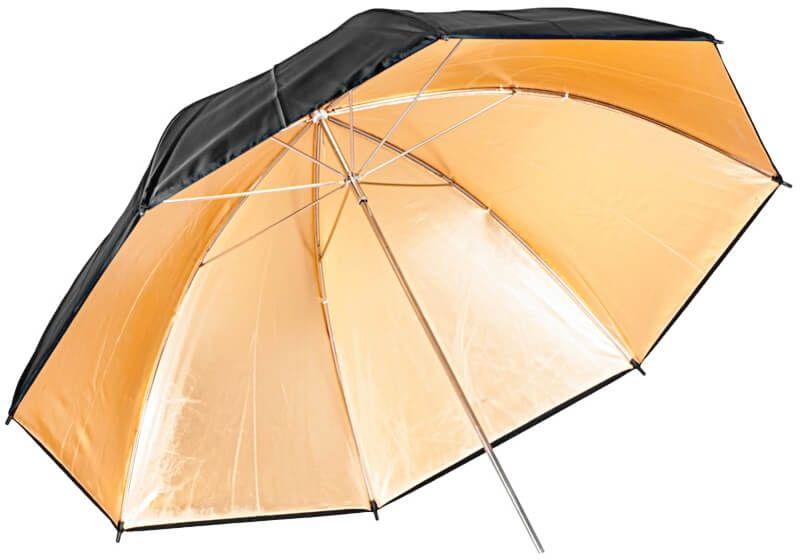 Quantuum parasolka złota 120cm