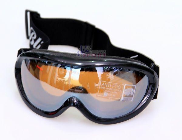 Blizzard Gogle 908 DAZ lady black shiny