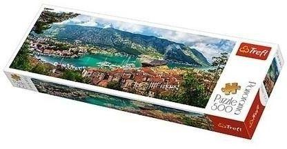 Puzzle 500 Panorama - Kotor Czarnogóra TREFL