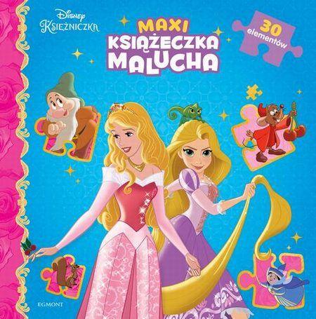 Księżniczki Maxi książeczka malucha