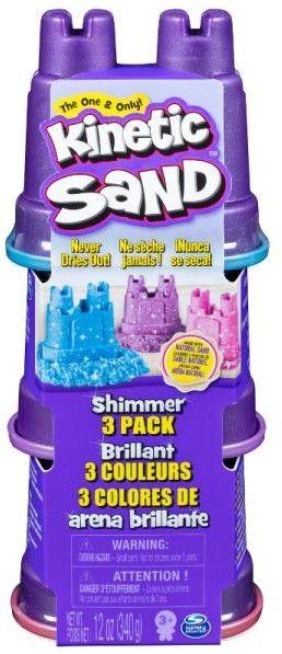 Kinetic Sand - Błyszczący zestaw z foremkami 20116318