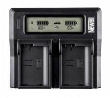 Ładowarka Newell LCD Dual Charger do Panasonic BLF-19