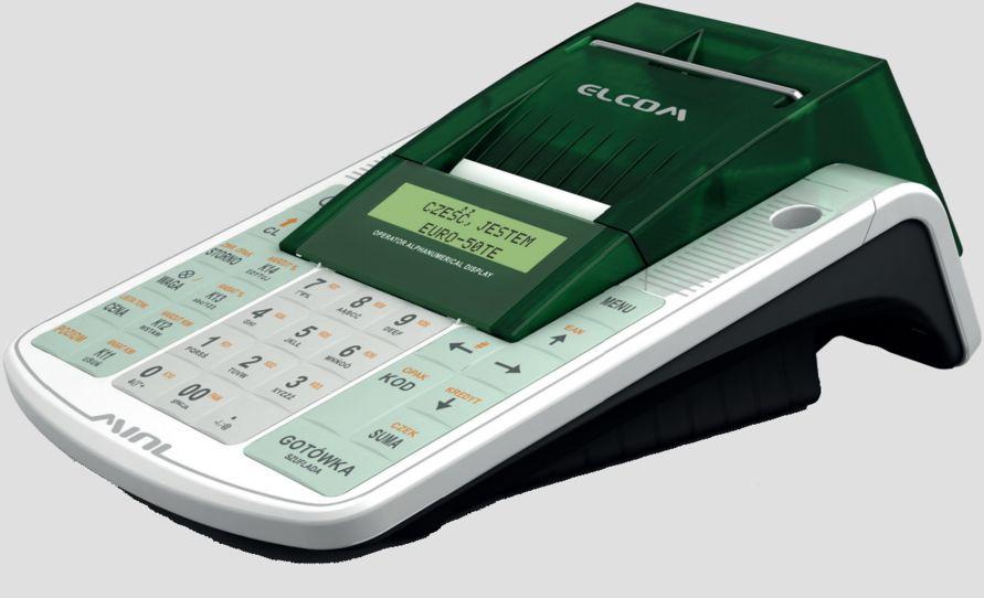 Kasa fiskalna z kopią elektroniczną EURO 50TE mini