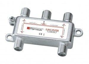 Rozgałęźnik 4-krotny pracujący w zakresie 5-2400 MHz Oferta