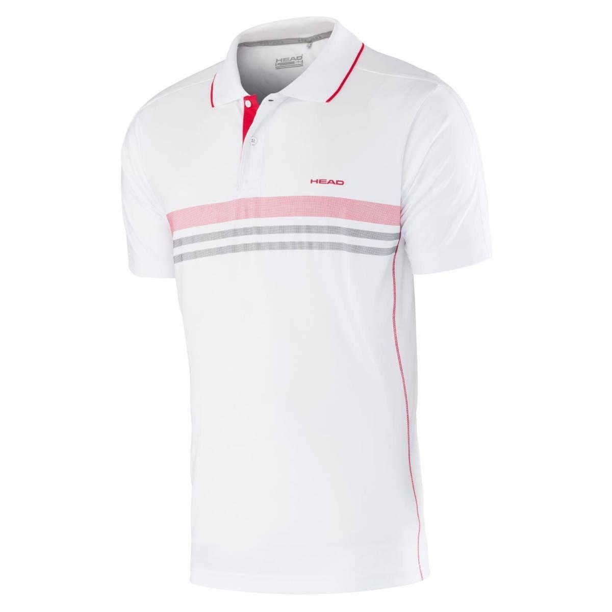 Head Club B Polo Shirt Technical - white/red