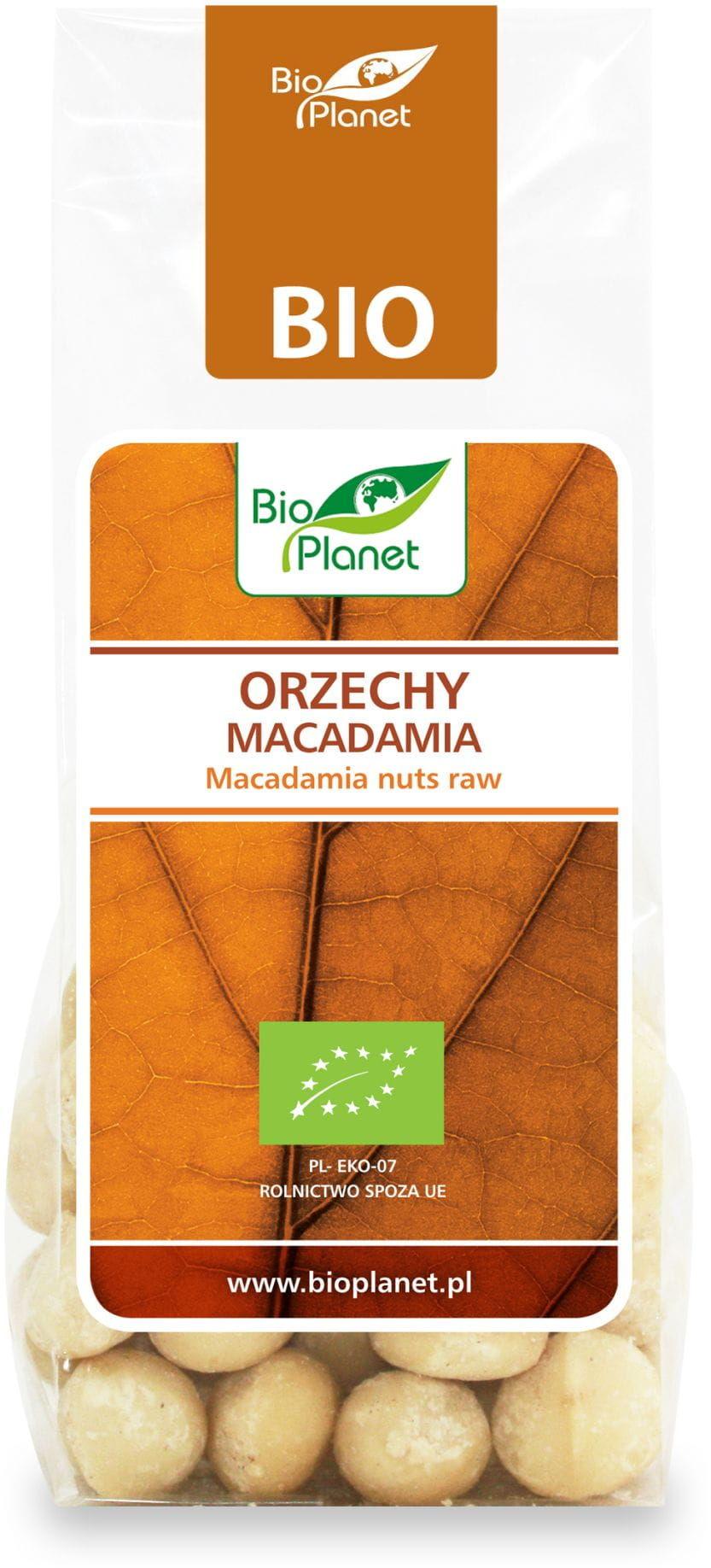 Orzechy Macadamia BIO 75g - Bio Planet