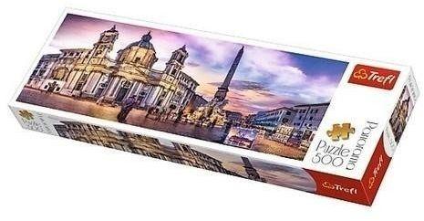 Puzzle 500 Panorama - Piazza Navona TREFL