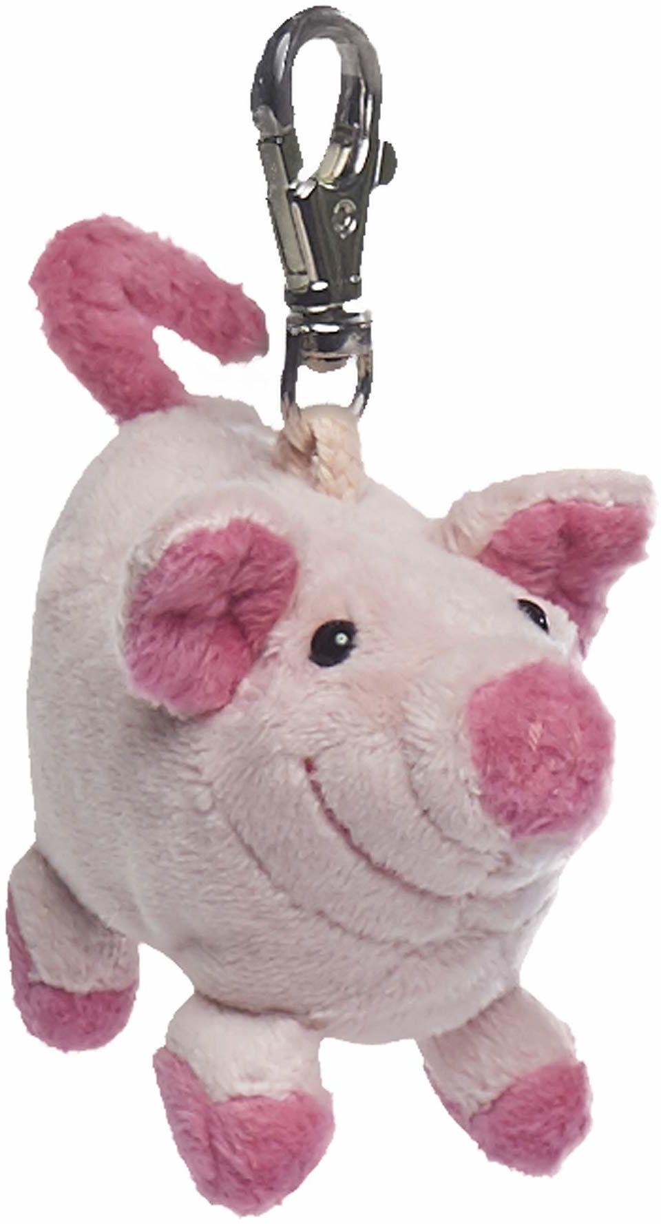 Schaffer Knuddel mich! 254 Loulou zawieszka świnia, różowa