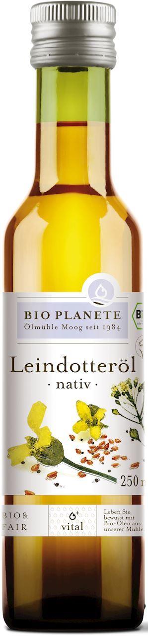 Olej z lnianki rydzowy virgin bio 250 ml - bio planete