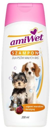 Amiwet Szampon norkowy dla małych psów 200ml