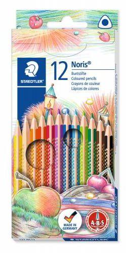 Kredki ołówkowe STAEDTLER Noris Club Triplus Slim 12 kolorów 127 NC12
