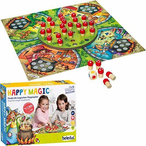 Beleduc 22700 Happy Magic gra dla dzieci i rodzinna