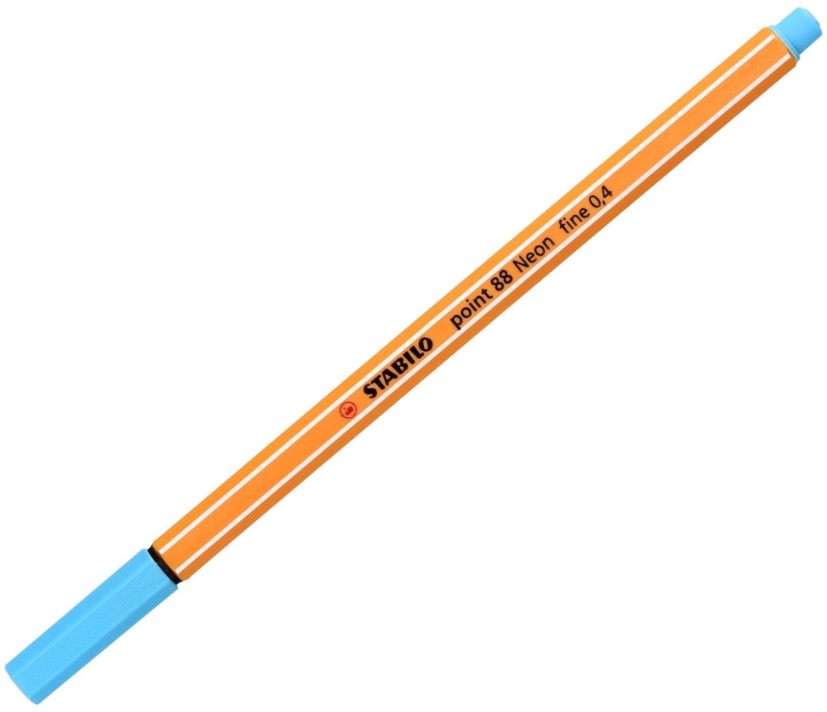 Cienkopis 0.4mm neon niebieski Point 88/031