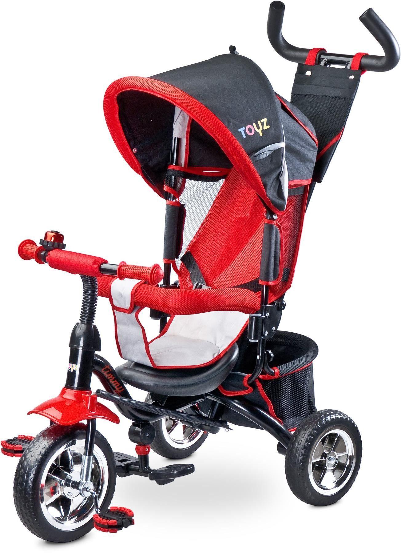 Caretero Timmy Toyz rowerek red