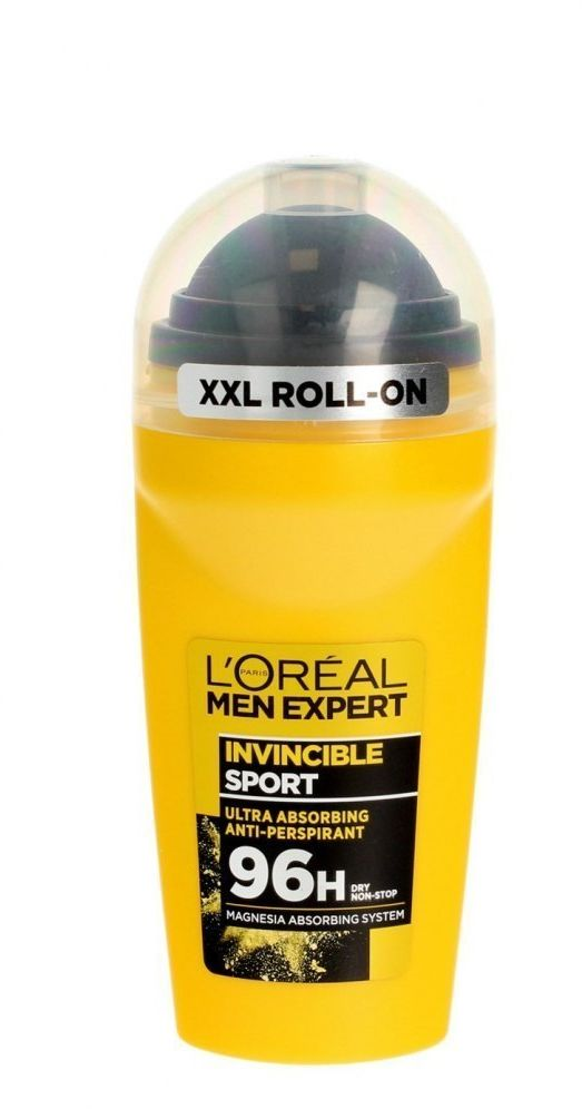 Loreal Loreal Men Expert Hydra Dezodorant roll-on Invisible Sport 96H 50ml